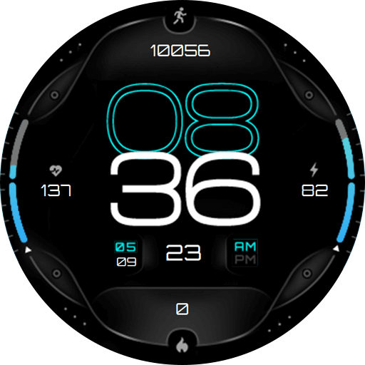 Galaxy Watch face - URBN Watch faces