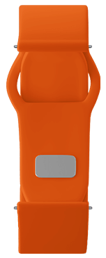 Orange Strap for samsung galaxy smart watch