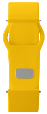 Yellow Strap for samsung smart watch