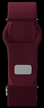 Dark red Strap for samsung galaxy smart watch