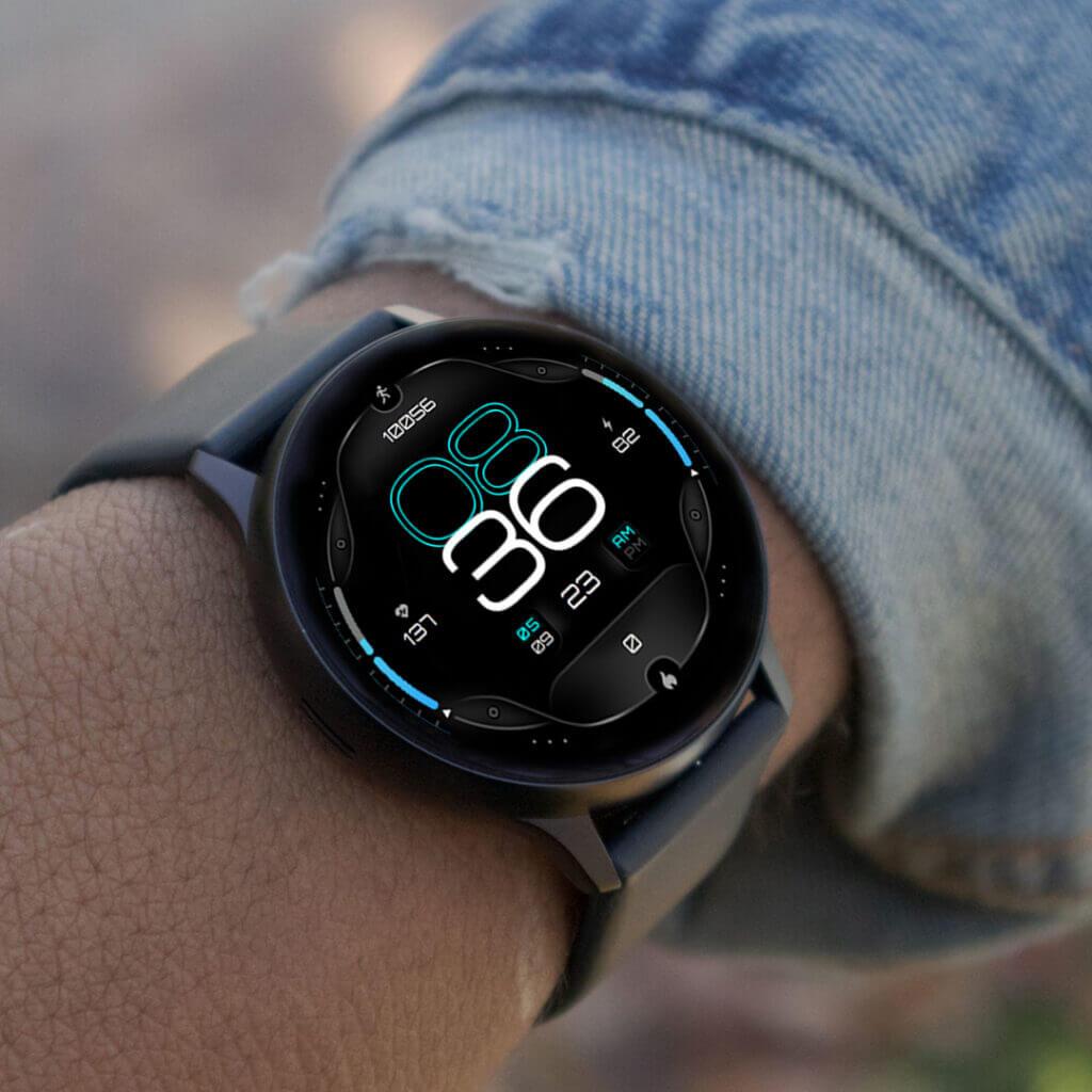 Galaxy watch face