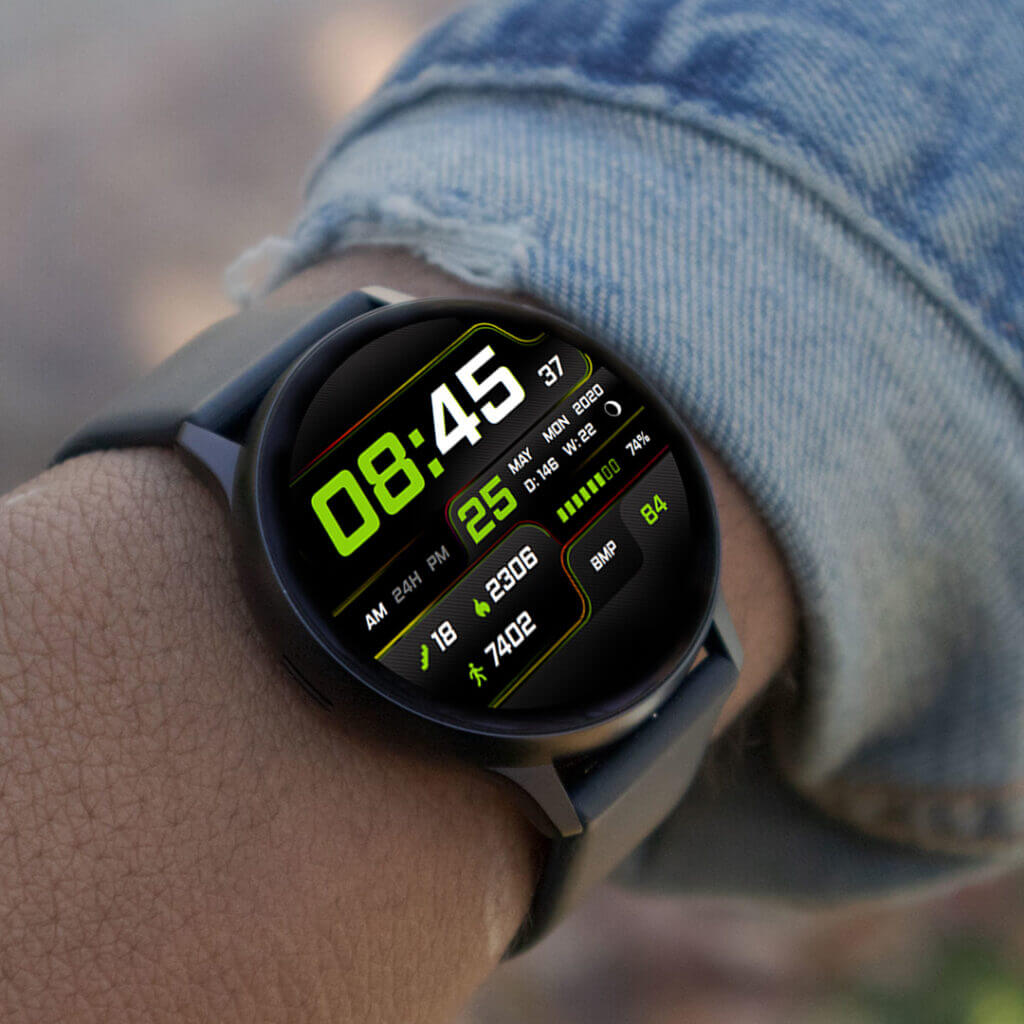 CarbonXS Galaxy Watch on arm