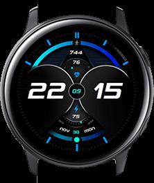 Blue Galaxy watch face