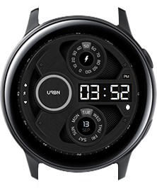 Urbn watch face - Gravity - White