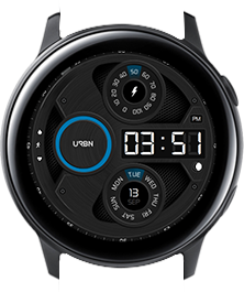 Urbn watch face - Gravity - Blue