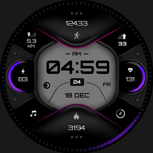 X-force Samsung watch face